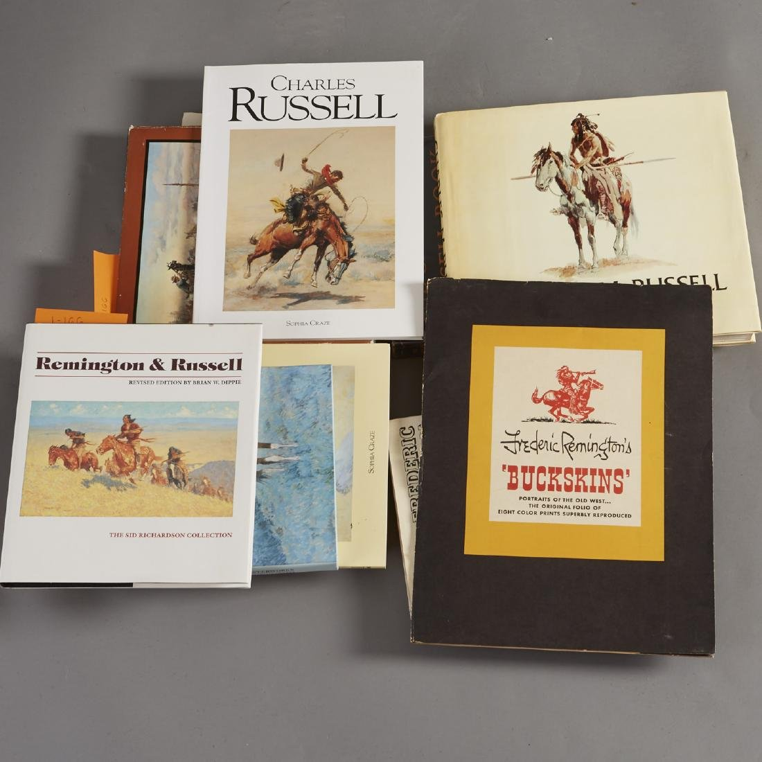11 Books about Russell and Remington