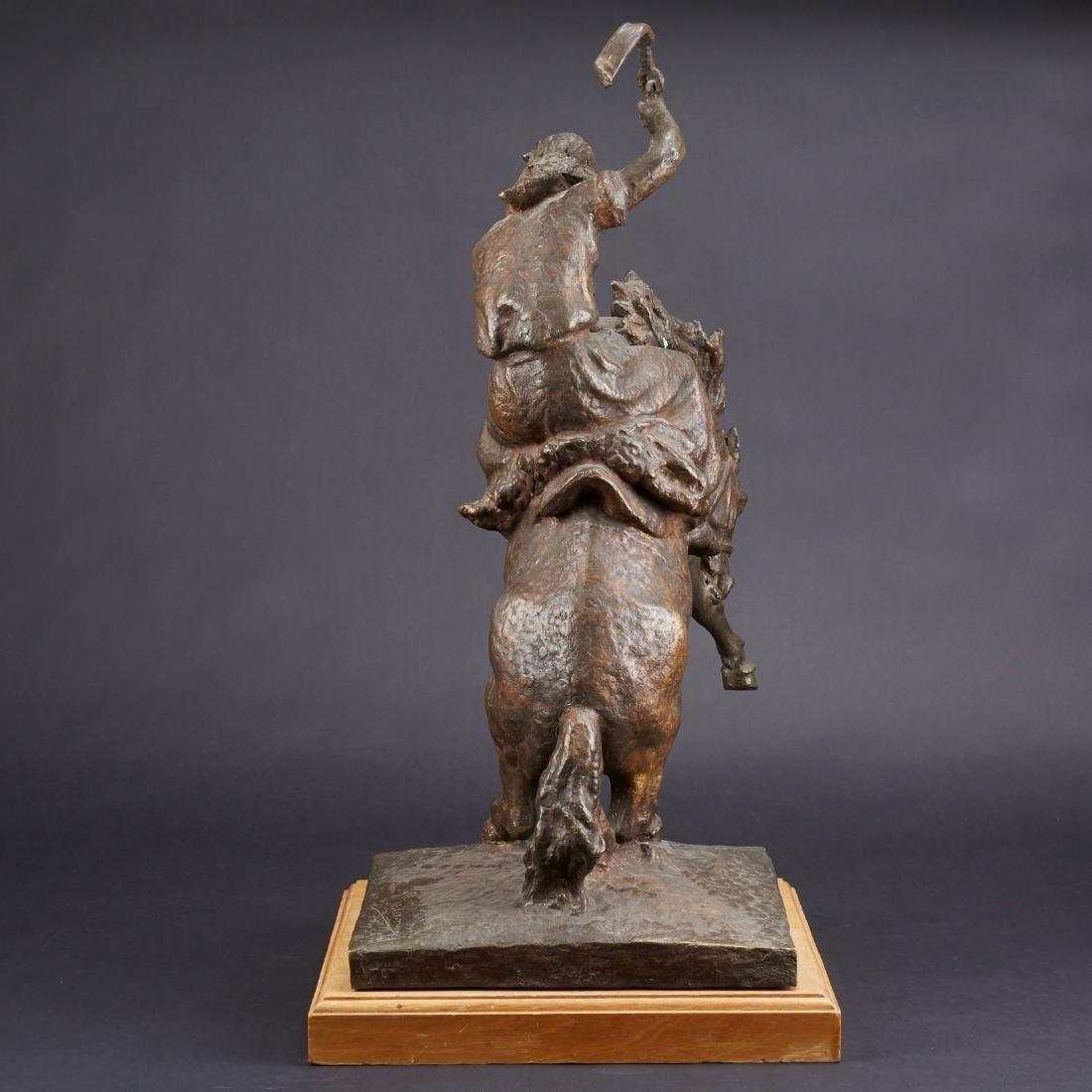 Jose Belloni Jineteando Bronze Sculpture - 3
