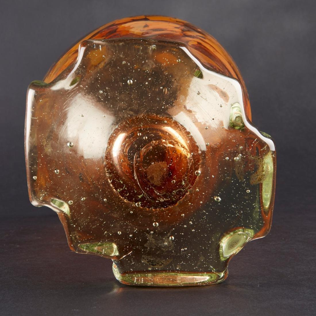 Fritz Dreisbach Glass Vase - 6