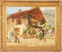 Edouard Detaille Oil on Canvas