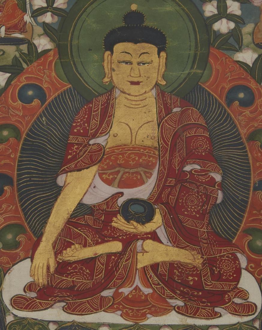 Tibetan Thangka Shakyamuni - 2