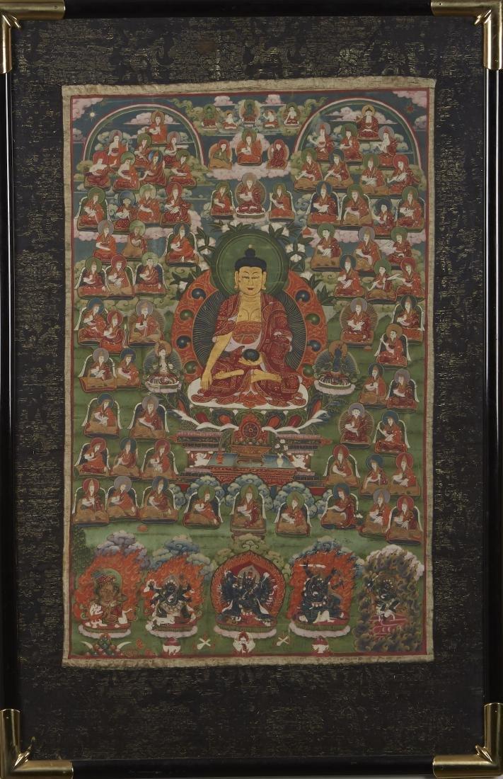 Tibetan Thangka Shakyamuni - 3