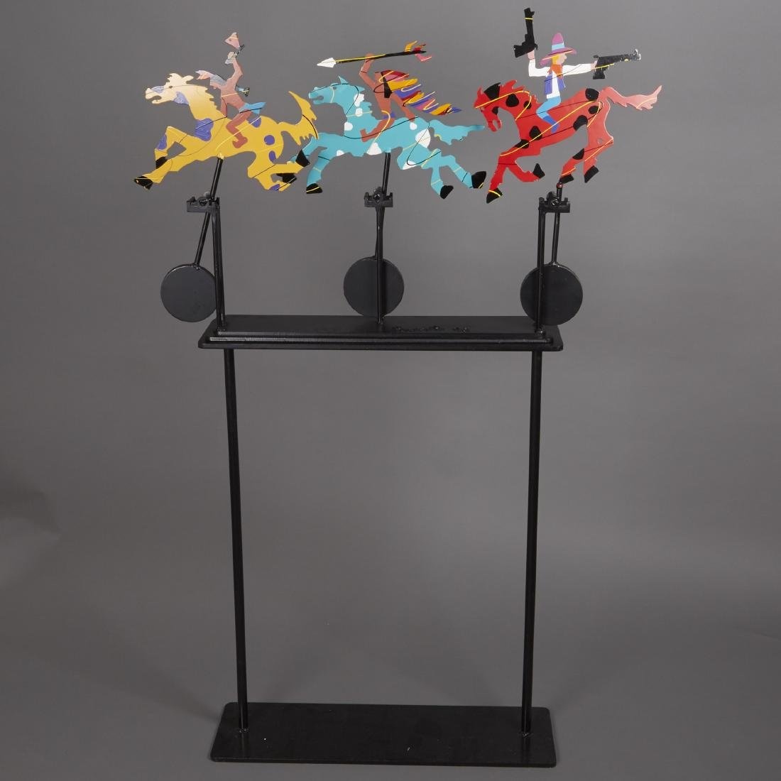 Frederick Prescott Kinetic Metal Sculpture
