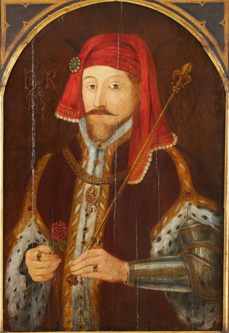17th century English School Portrait Painting of Henry