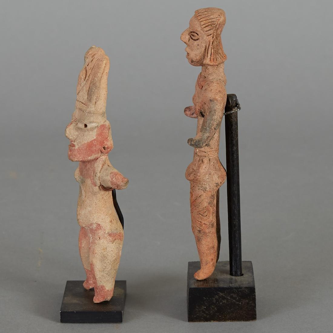 2 Pre-Columbian Female Figurines - 2