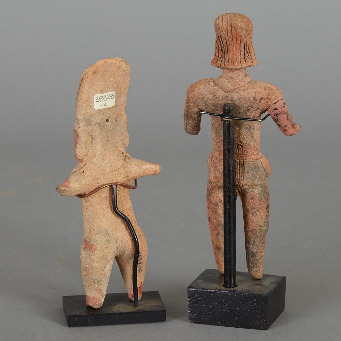 2 Pre-Columbian Female Figurines - 3