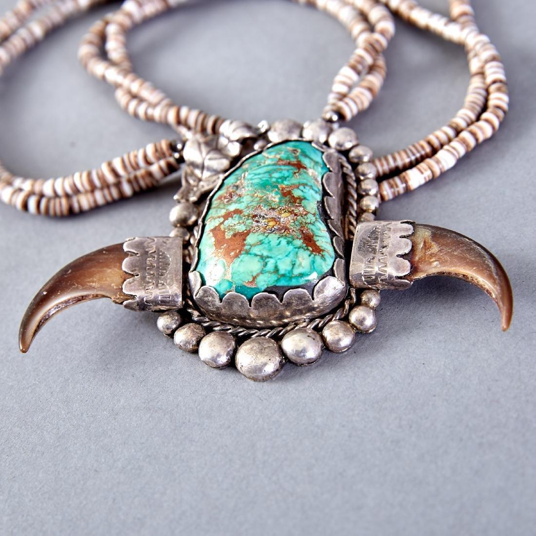 2 Native American Necklaces Navajo - 2