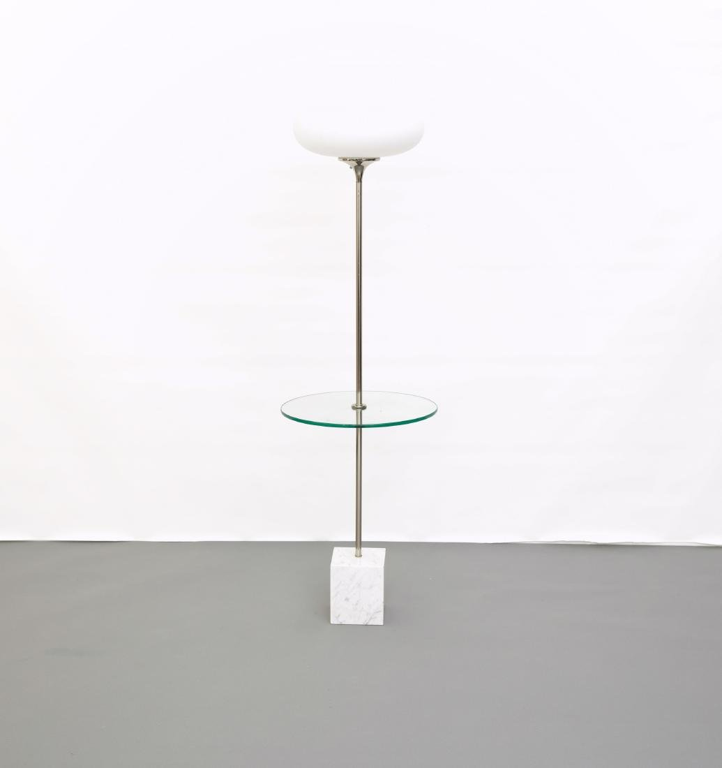 Laurel Lamp Co Floor Lamp with Marble Base