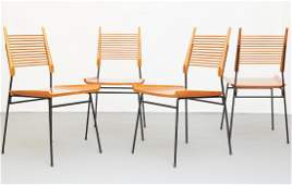 Set of 4 Paul McCobb Planner Group Dining Chairs