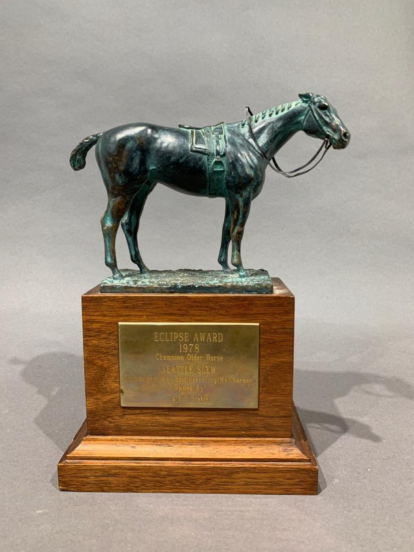 1978 Eclipse Award Seattle Slew Triple Crown Horse Race