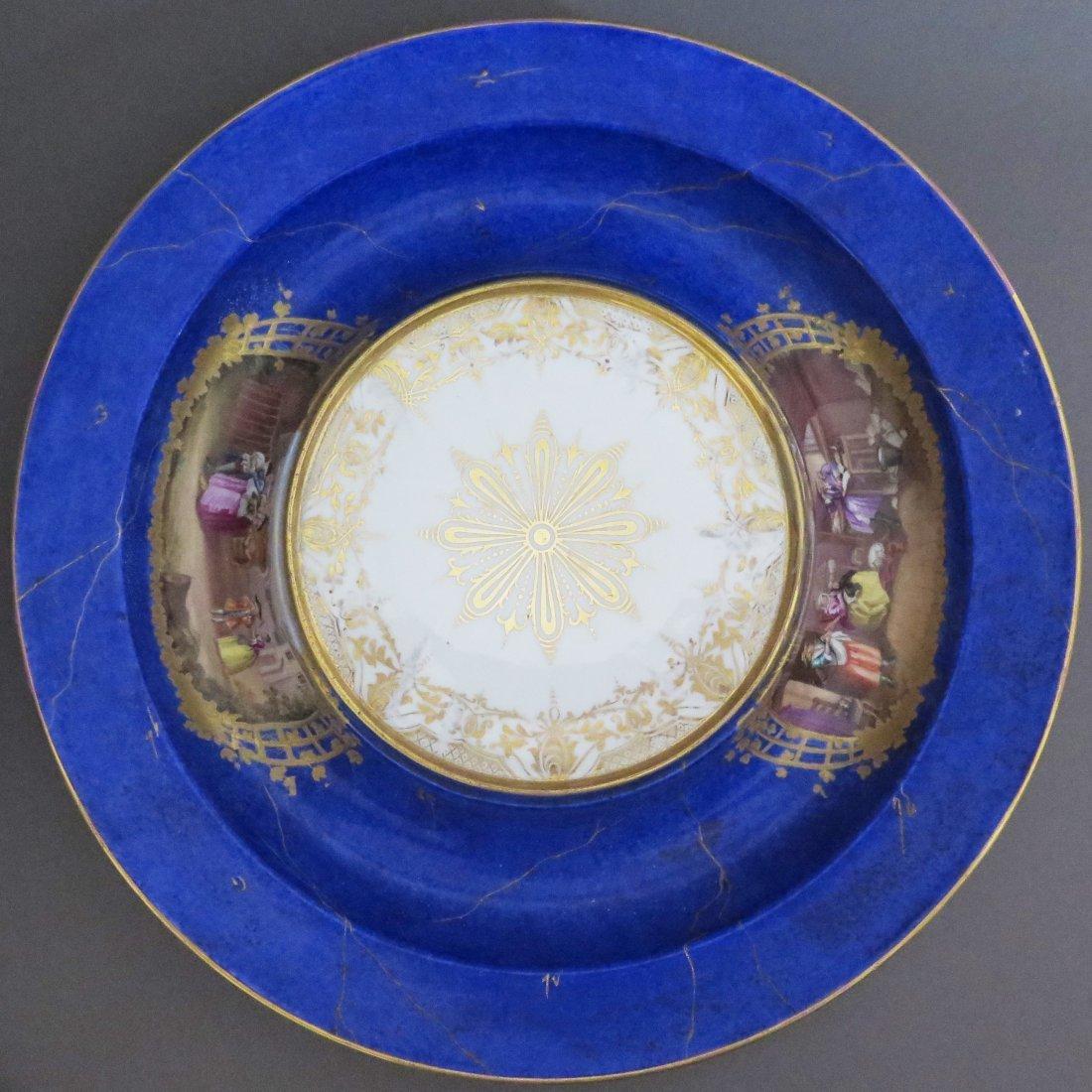 Meissen Porcelain Lidded Punch Bowl and Underplat - 6