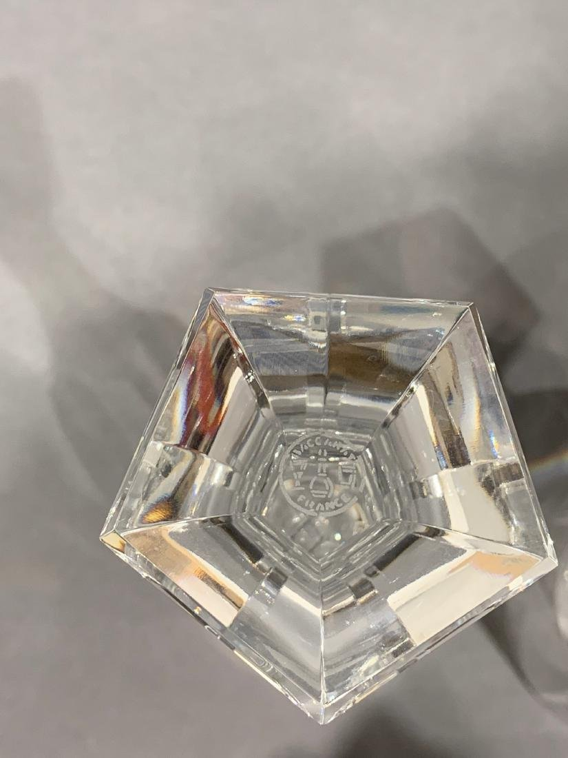 Group of 18 Baccarat Cut Crystal Glasses - 4