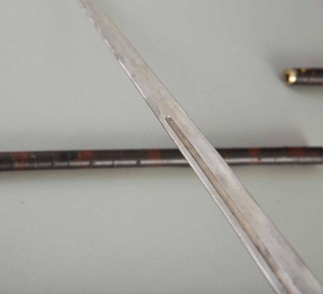 Japanese Meiji Period Sword Cane - 3