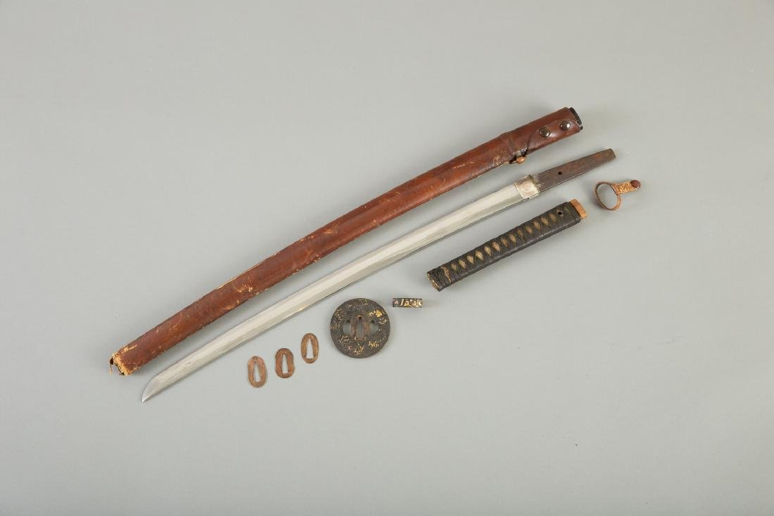 Japanese Sword With Fine Tsuba - 2