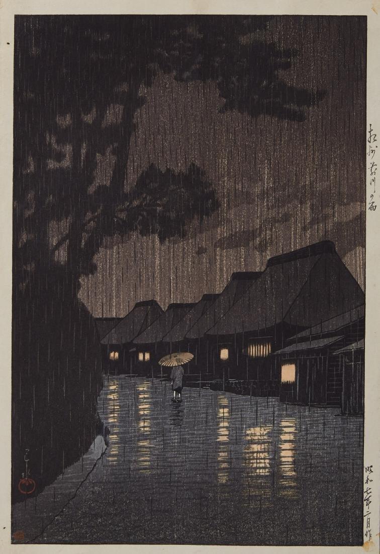 Hasui Kawase Japanese Woodblock Print