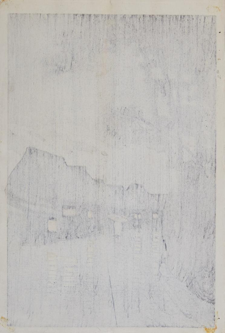 Hasui Kawase Japanese Woodblock Print - 5