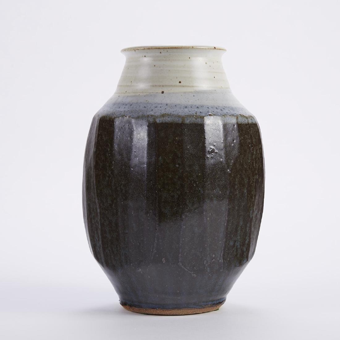 Warren MacKenzie Fluted Studio Pottery Vase