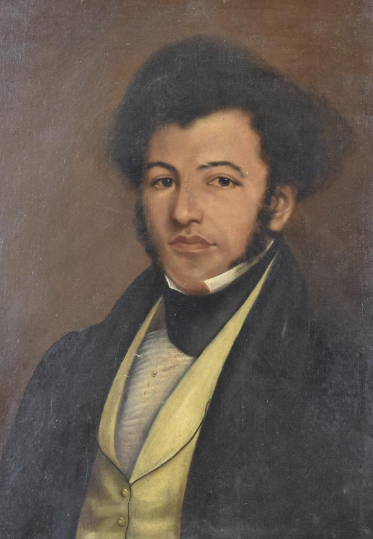 19th c. American Portrait of an African American