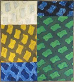 Claude Viallat Abstract Painting 1977-1978