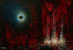 Leonardo Nierman Abstract Painting