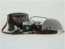 Leica M3 Camera Body w/ Viewfinder and Flash