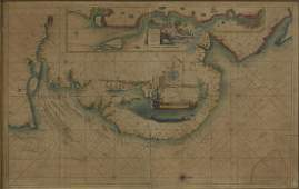 Captain Collins Sea Chart of The River Thames and