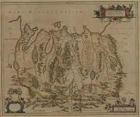 Timothy Pont Map of Northern Scotland ca 1655