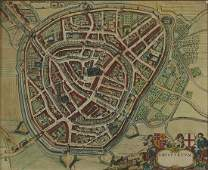 Joan Blaeu Map of Amersfoort ca 1650