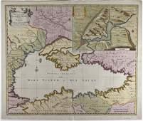 Nicholas Visscher Map Black Sea Region Istanbul 1