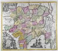 Lot of Maps India Sri Lanka