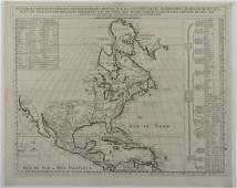 Grp: Early Maps of North America w/ 1 Map England
