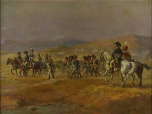 """Henri-Georges-Jacques Chartier """"Napoleon Bonapart"""