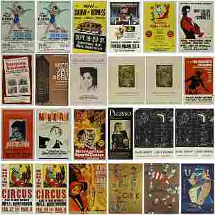 Large Number of Posters and Playbills