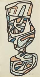 """Jean Dubuffet """"Le Verre d"""