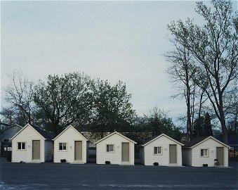 "Alec Soth ""Falls Manor"" Photograph from ""Niagara"""