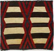 Navajo Third Phase Chief's Blanket Weaving Rug