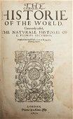 "Pliny the Elder ""Natural History"" London 1601"