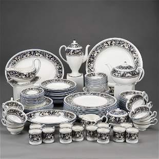 Grp: Wedgwood Florentine Dark Blue Dishes