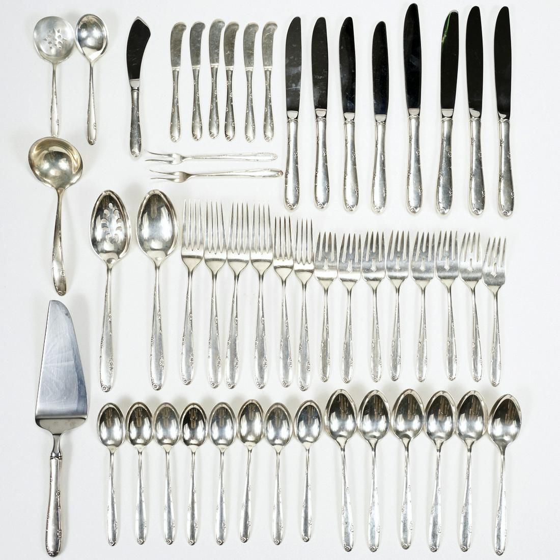 Set of Towle Madeira Sterling Silver Flatware