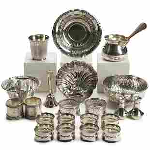Grp: Sterling Silver Objects - Gorham Bottega Sanborn