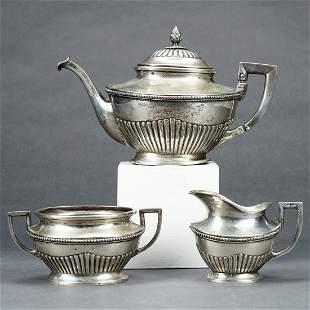 Schwarz & Steiner 800 Silver Tea Set