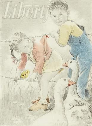 Frances Tipton Hunter Liberty Magazine Cover