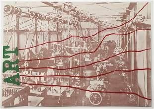 """Jim Dine """"ART"""" Offset Lithograph Poster 1968"""