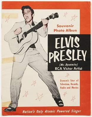Elvis Souvenir Photo Album 1956