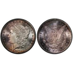 1879 S Morgan Silver Dollar UNC Detail PCGS
