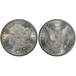 1880-CC Morgan Silver Dollar Coin