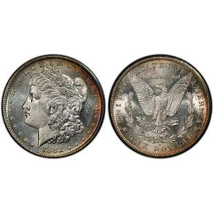 1881 S Morgan Silver Dollar MS64 PCGS