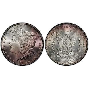 1886 Morgan Silver Dollar UNC Details PCGS