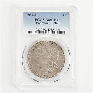 1894 O Morgan Silver Dollar Coin