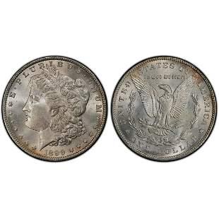 1899 Morgan Silver Dollar MS64+ PCGS